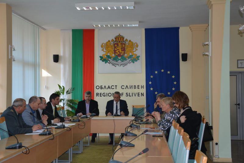Съветът за сигурност проведе редовно заседание